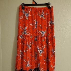 Xhilaration maxi skirt